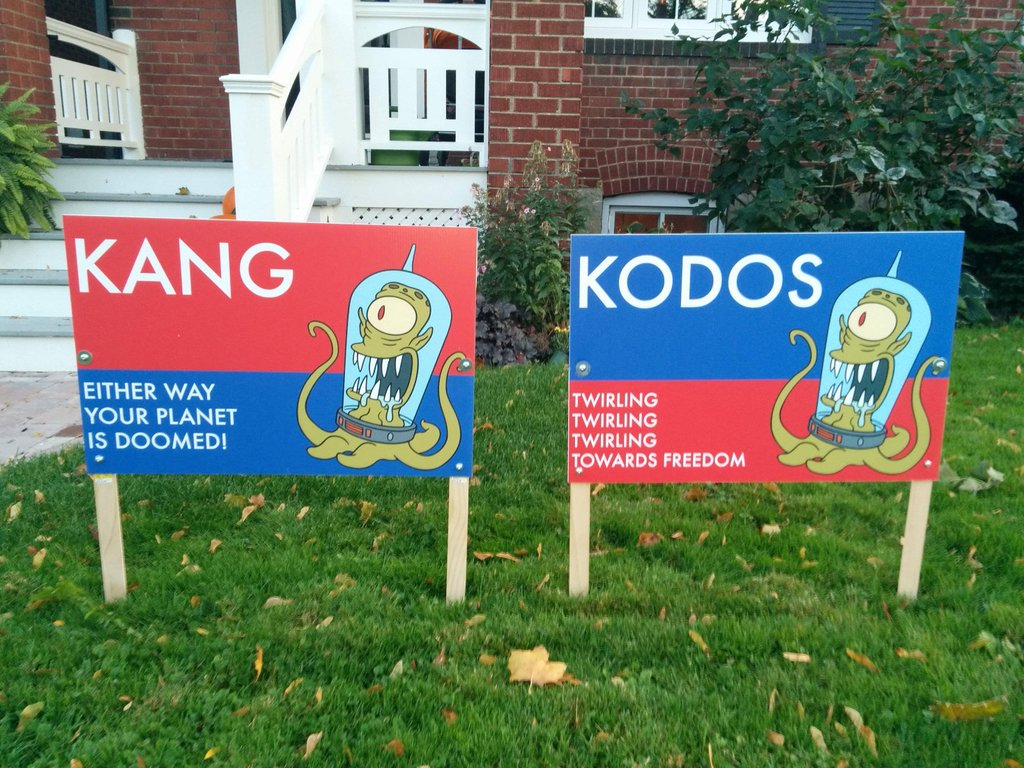 Don T Blame Me I Voted For Kodos 2016 United States