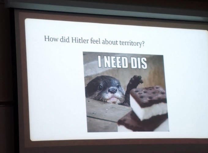 e26 how did hitler feel about territory? memehistory know your meme