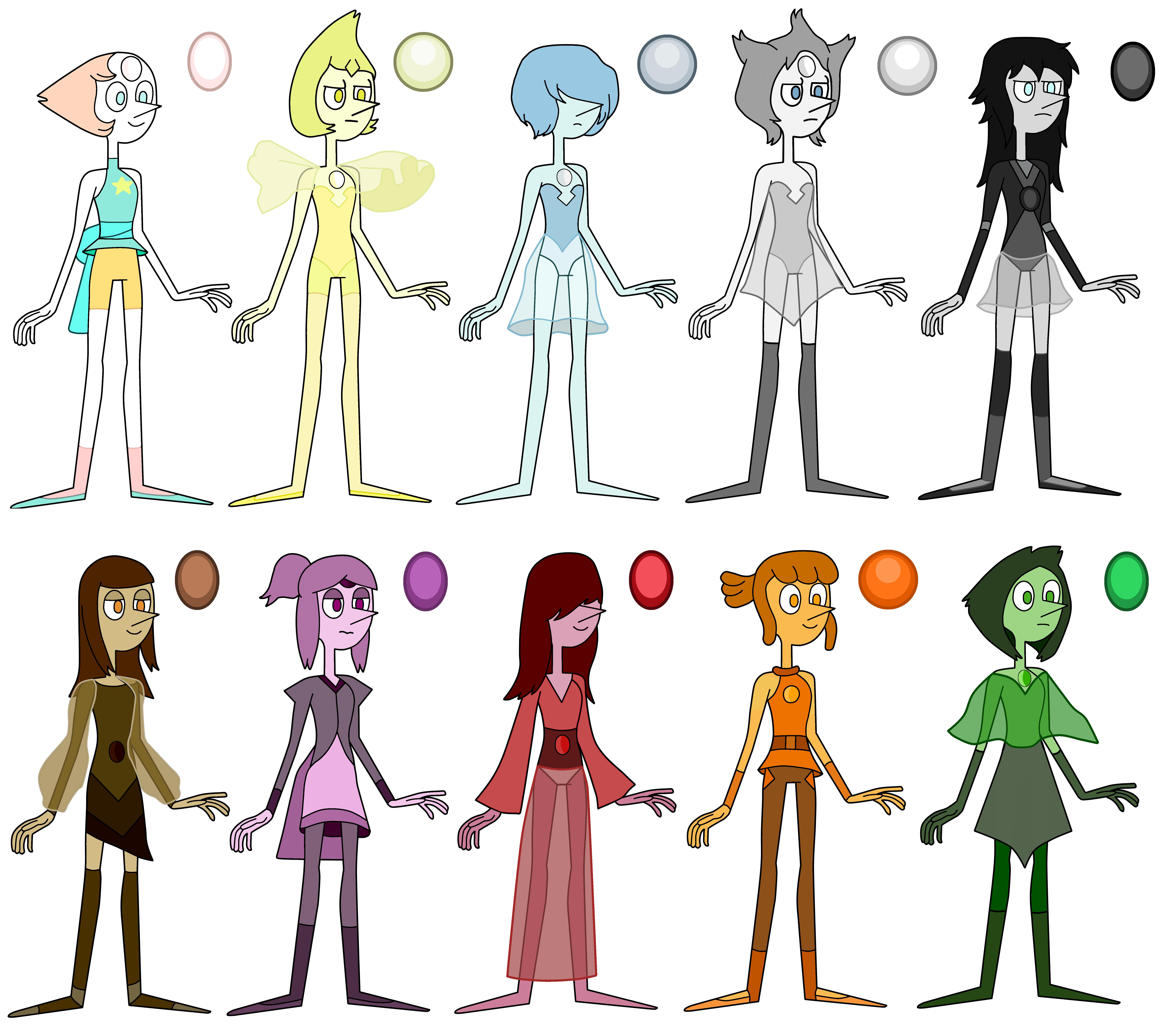 Pearl Colors Steven Universe Know Your Meme