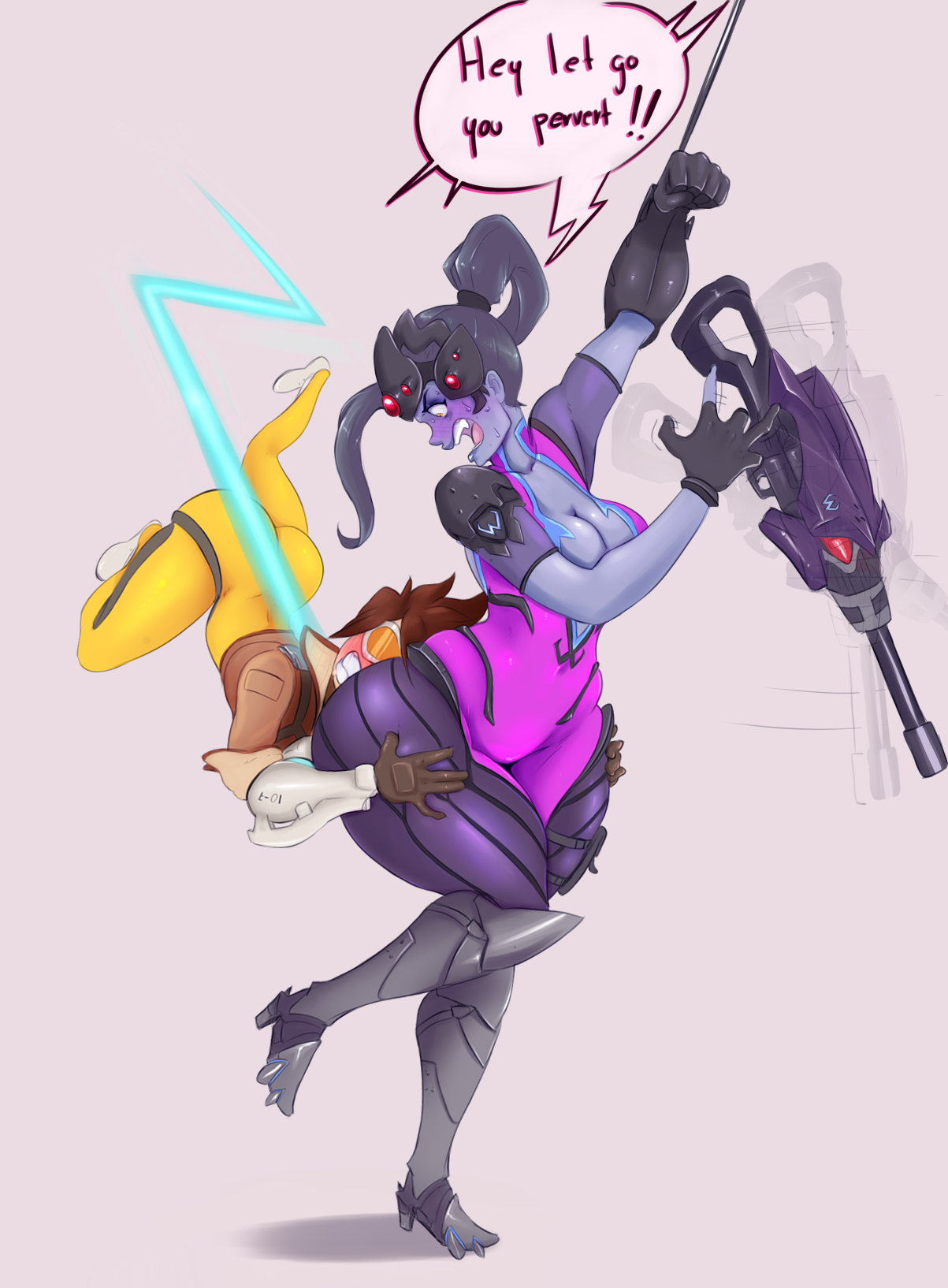fb2 tracer butt hugging widowmaker by sunny sundown overwatch know