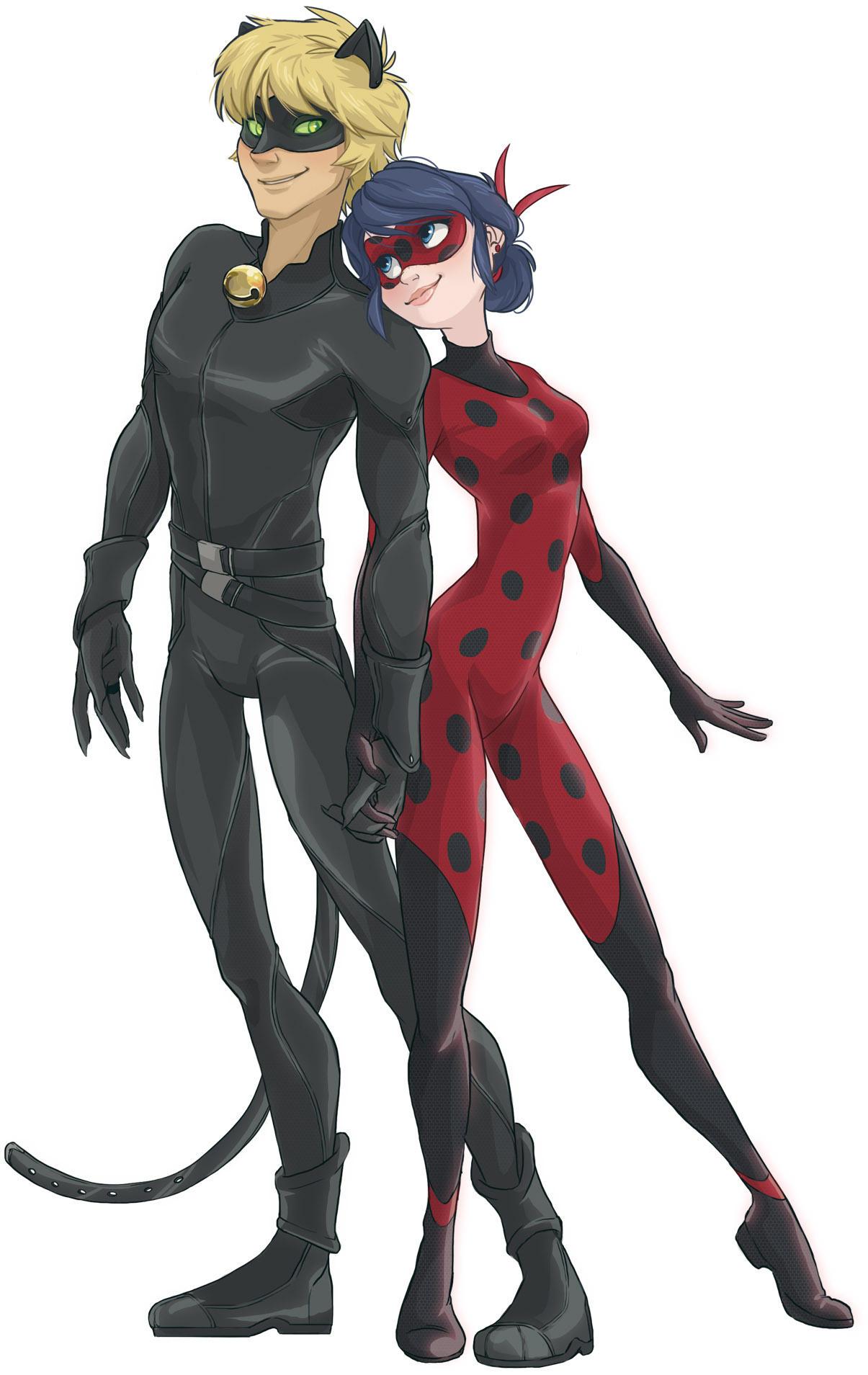 Lady Bug Cat Noir
