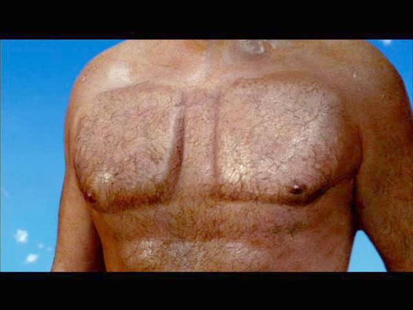spongebob movie david hasselhoff chest launcher