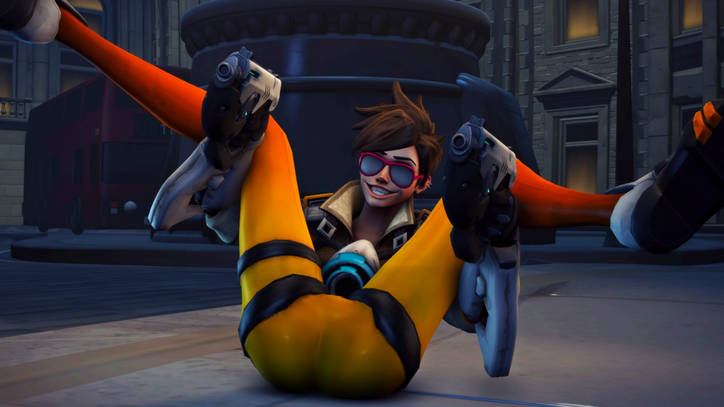 Filthy Tracer: New victory pose | Overwatch | Know Your Meme