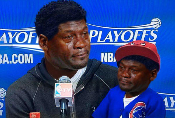 Derrick rose and son crying michael jordan know your meme voltagebd Images