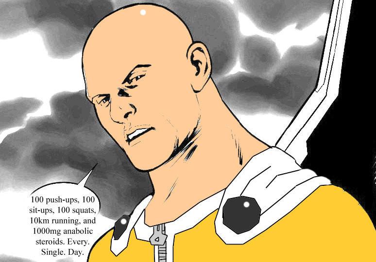 "One Punch Man | Captain Hydra / Captain America ""Hail ..."