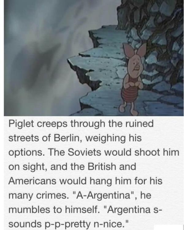 27d pull the trigger piglet winnie the pooh know your meme,Pooh And Piglet Meme