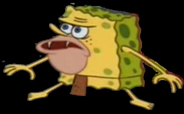 Primitive SpongeBob Template | SpongeGar / Primitive ...