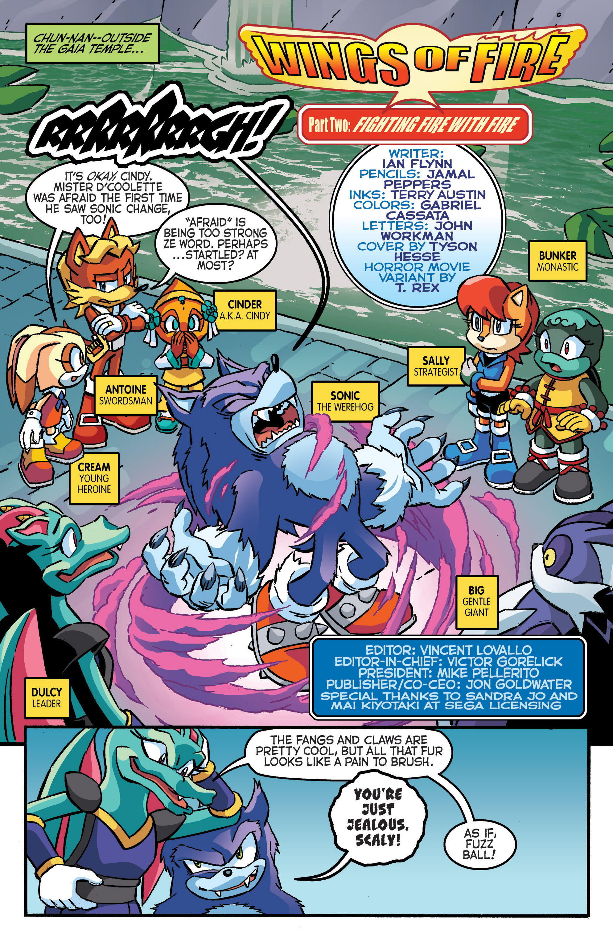 Sth 282 Preview Page 1 Archie Sonic Comics Know