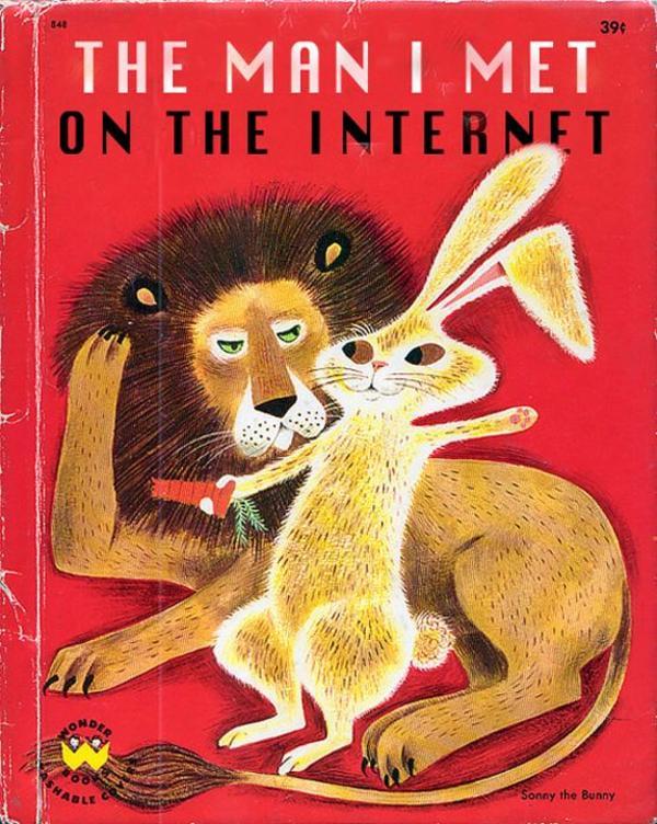 Children Book Cover Meme : The man i met on internet children s book cover