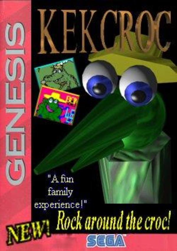 Kekcroc Box Art Kekcroc Know Your Meme