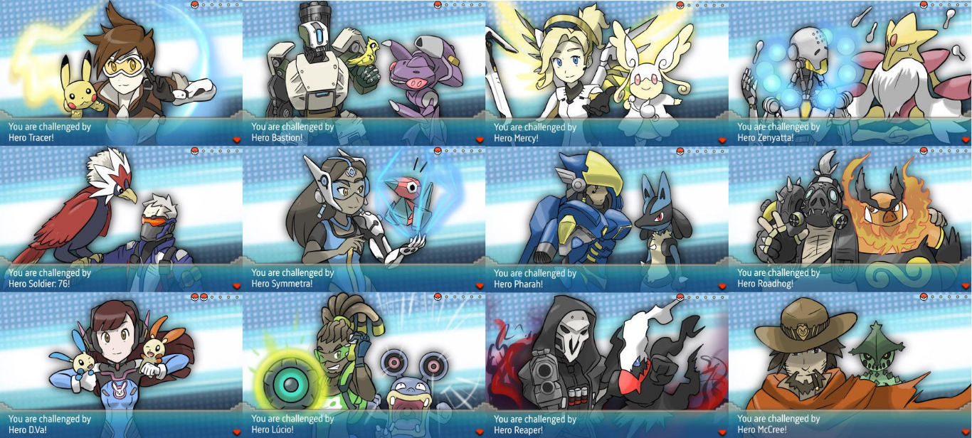 If Overwatch Characters Were Pok 233 Mon Trainers Pokemon