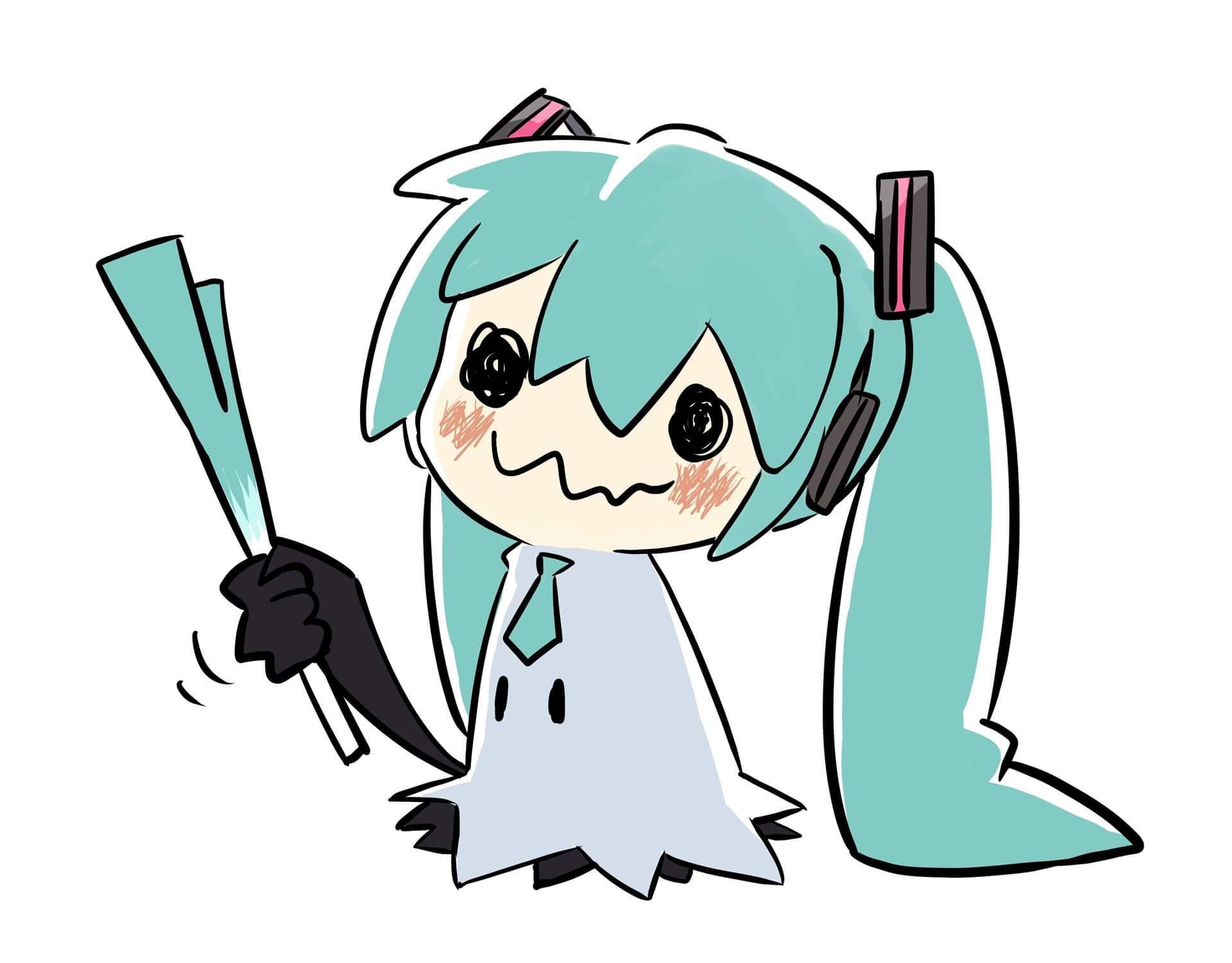 Hatsune Mimikyu Mimikyu Know Your Meme