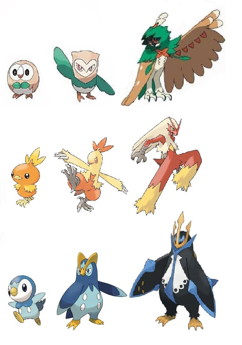 there u0026 39 s a bird for every starter type