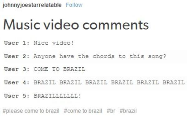 145 come to brazil know your meme