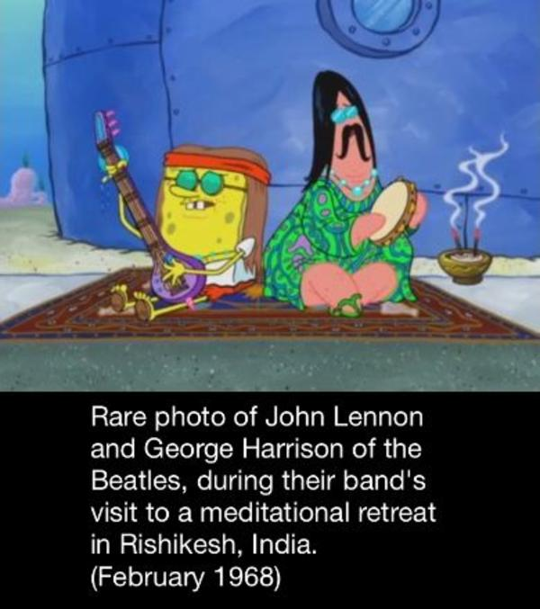but how is the incense burning underwater spongebob