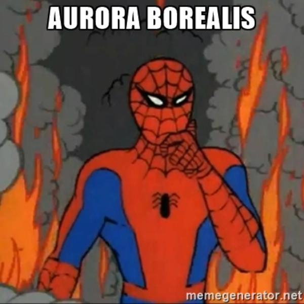 088 aurora borealis 60's spider man know your meme,Spiderman Cancer Meme Generator