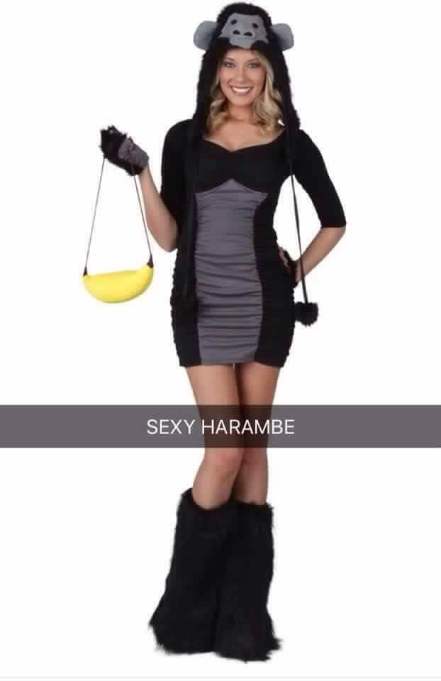 Sexy Harambe Halloween Costume | Harambe the Gorilla | Know Your Meme