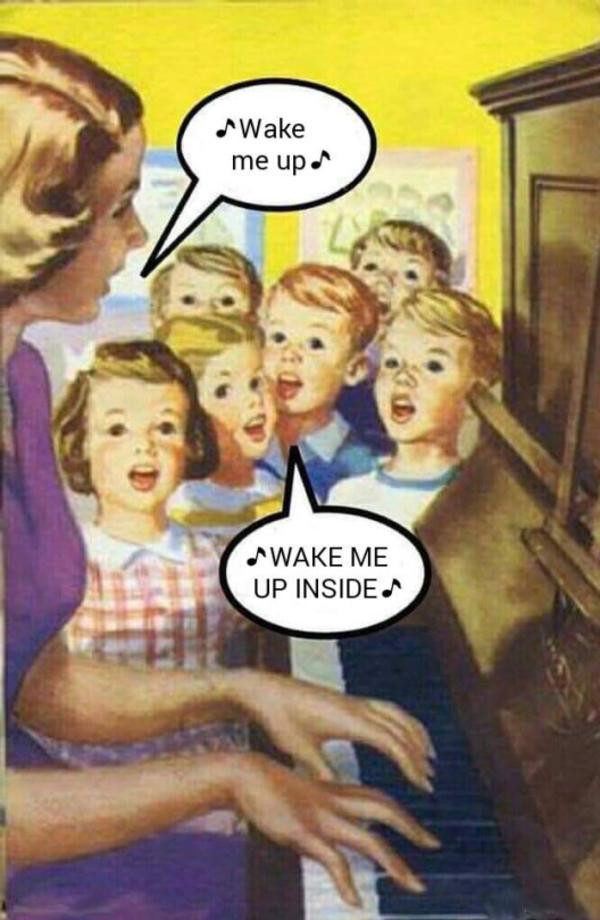 Wake me up ♪ ♪ WAKE ME UP INSIDE ♪ | Wake Me Up Inside ...