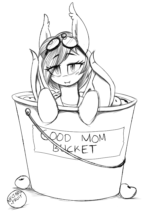 nolegs mom nectarine wynne in a good mom bucket by replica my little pony friendship is magic know your meme