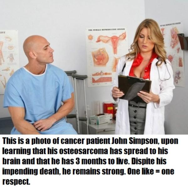 Cancer Victim Johnny Sins Know Your Meme
