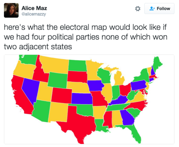 What The Electoral College Map Would Look Like Edits