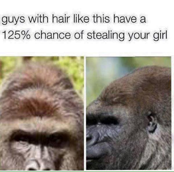 Guys With Hair Like This Have A Chance Of Stealing Your Girl - Hairstyle steal your girl