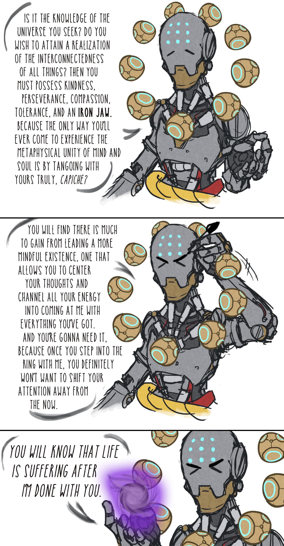what skilled zenyatta mains are like overwatch know