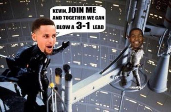 e15 the warriors blew a 3 1 lead know your meme