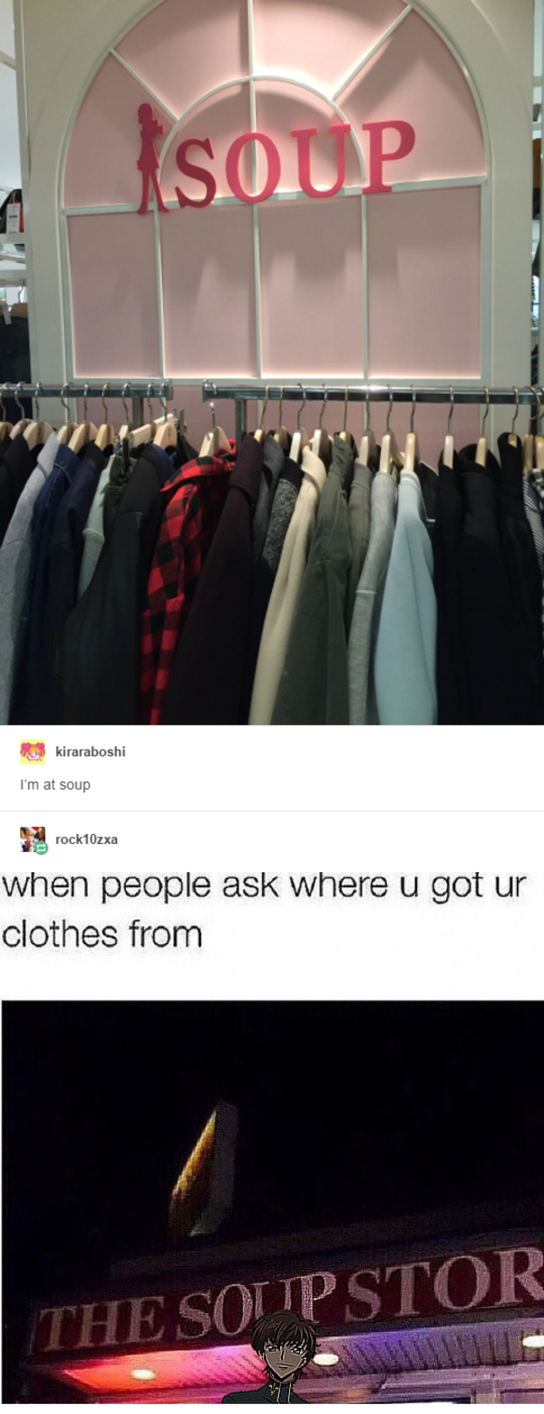when people ask where you got ur clothes from   I'm At ...