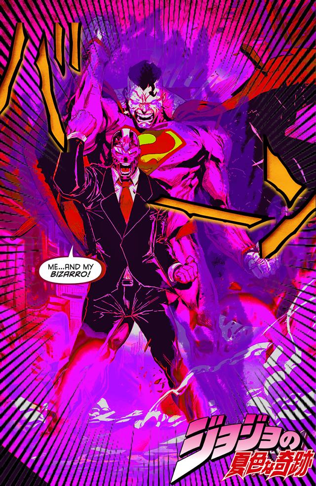 [STAND NAME] Sunset Superman   [STAND MASTER] Roman Sionis   JoJo's Bizarre Adventure   Know ...
