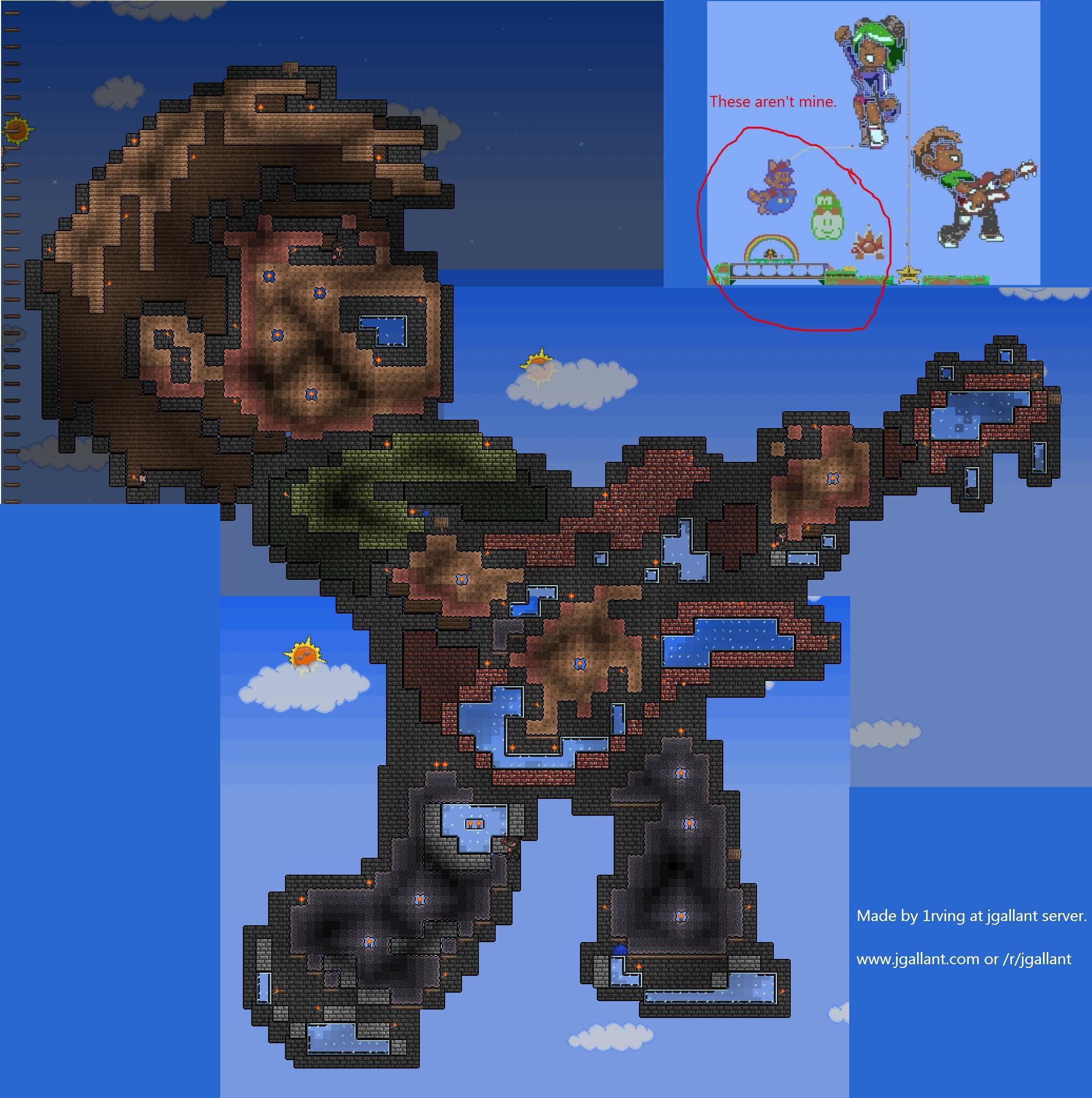 Scott Pilgrim Pixel Art By 1rving Terraria Know Your Meme