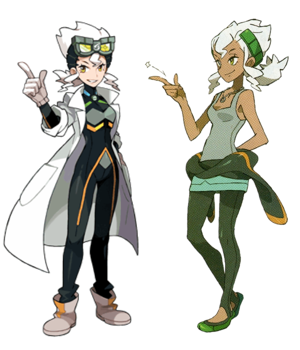 Professor Burnet: Before and After | Pokémon Sun and Moon | Know Your ...