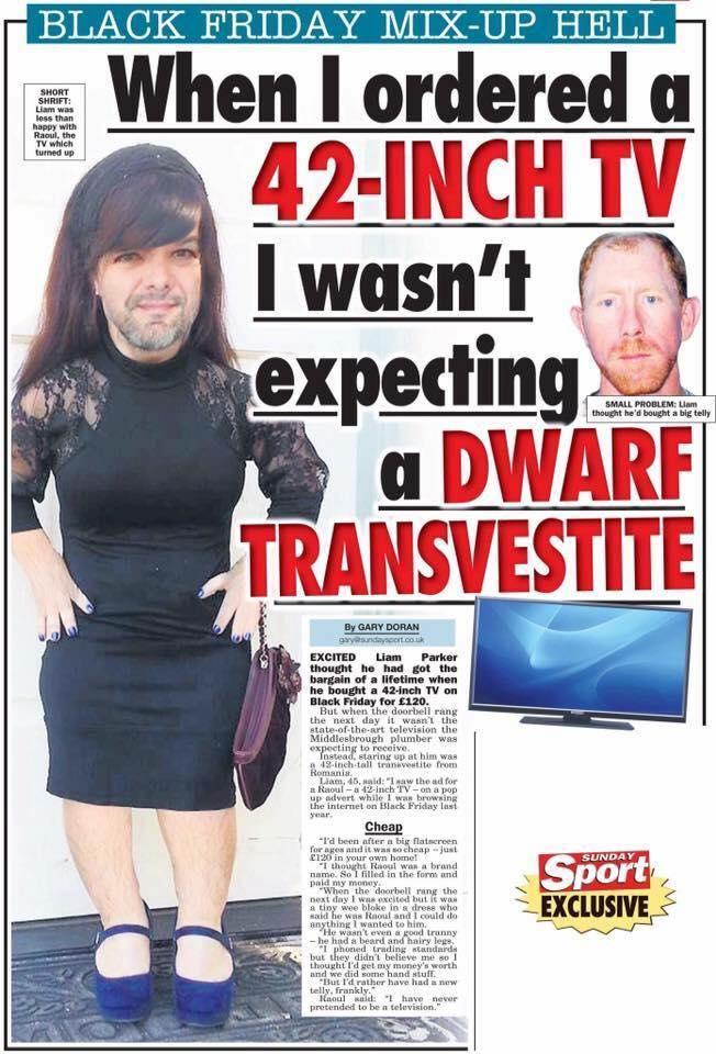 New transvestite television
