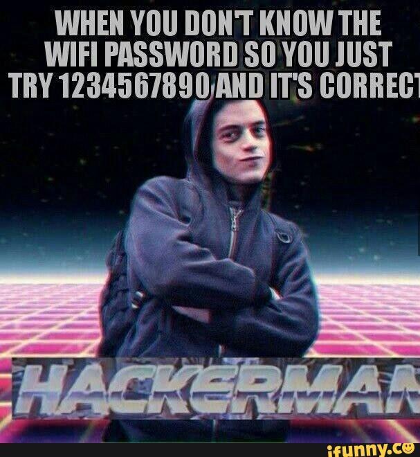 hackerman wifi