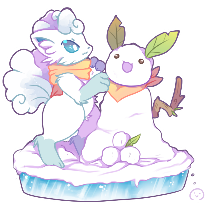Alolan Vulpix building an Snowchu | Pokémon Sun and Moon | Know Your ...