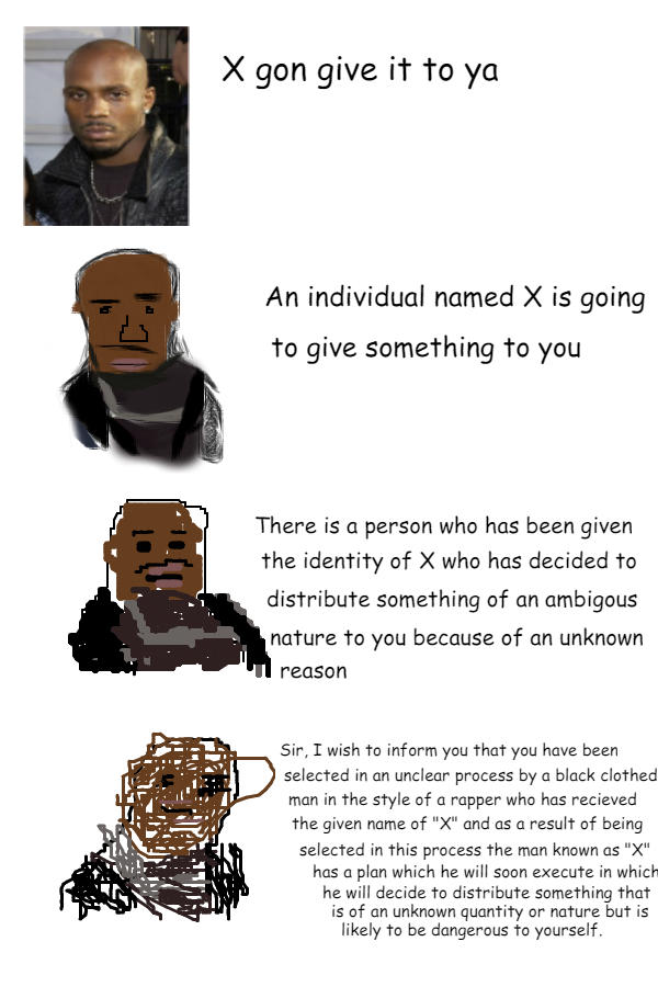 X Gon Meme It To Ya Increasingly Verbose Memes Know