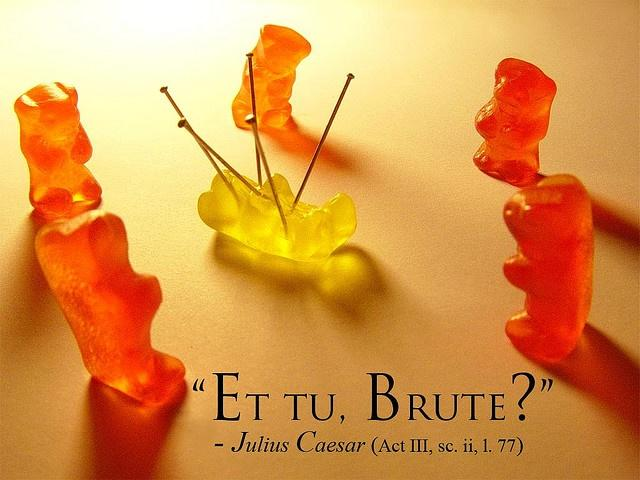 1cf gummy bear edition et tu brute? know your meme