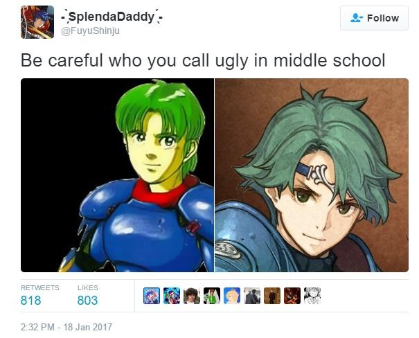 52b alm then and now fire emblem know your meme