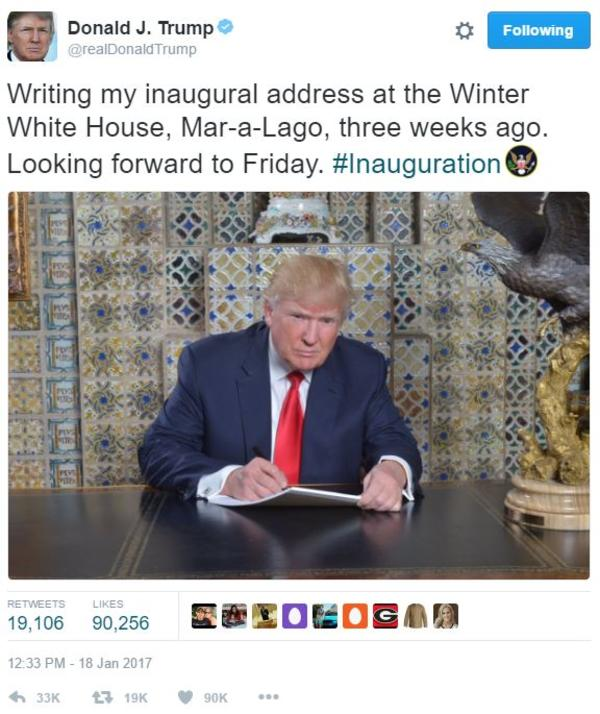 c96 donald trump's inaugural address photo know your meme