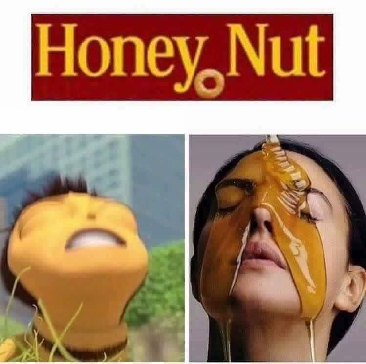 Honey Nut Barry B Benson Bee Movie Cheerios Face Facial Expression Nose
