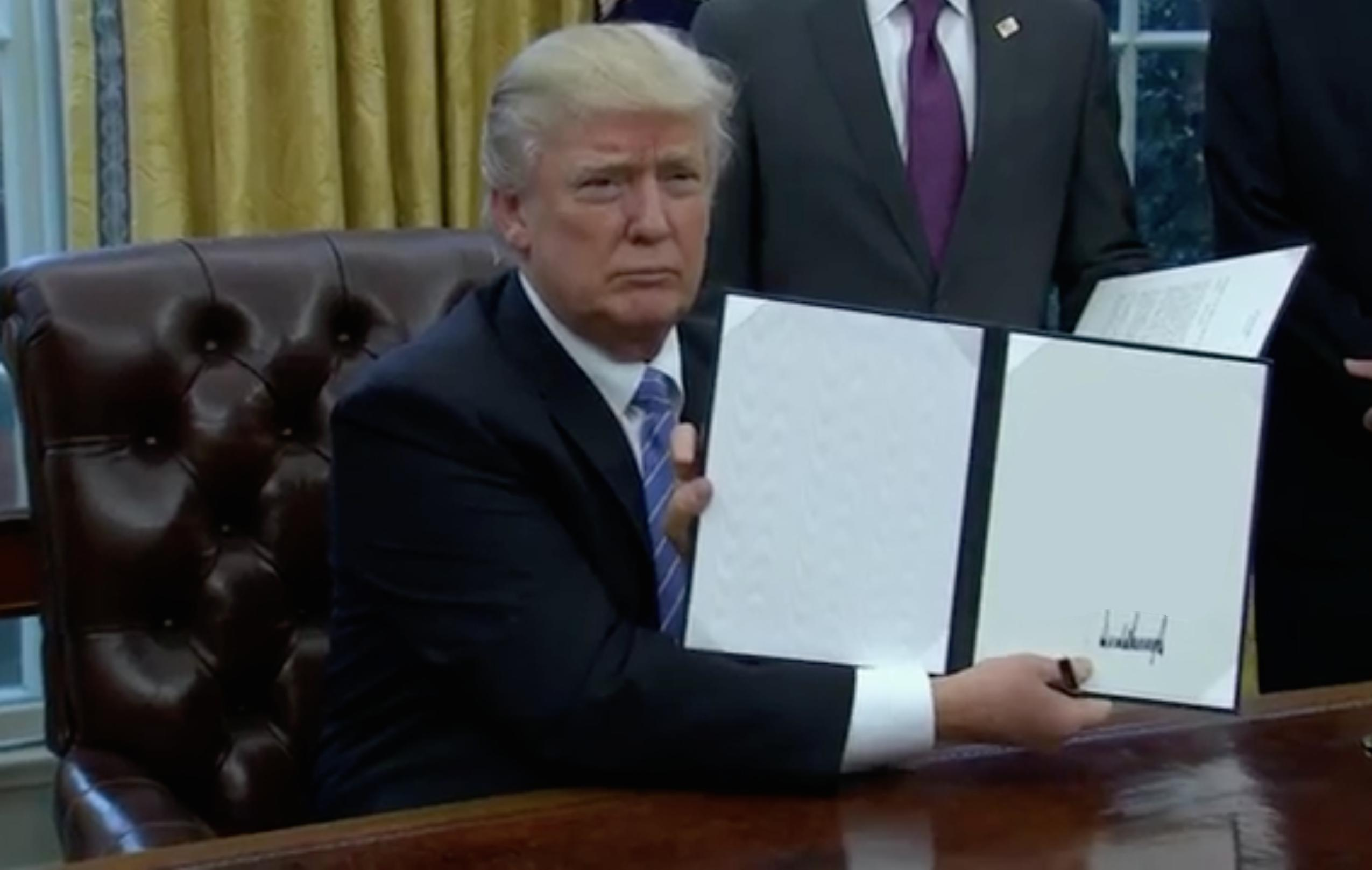 Blank template trumps first order of business know your meme pronofoot35fo Images