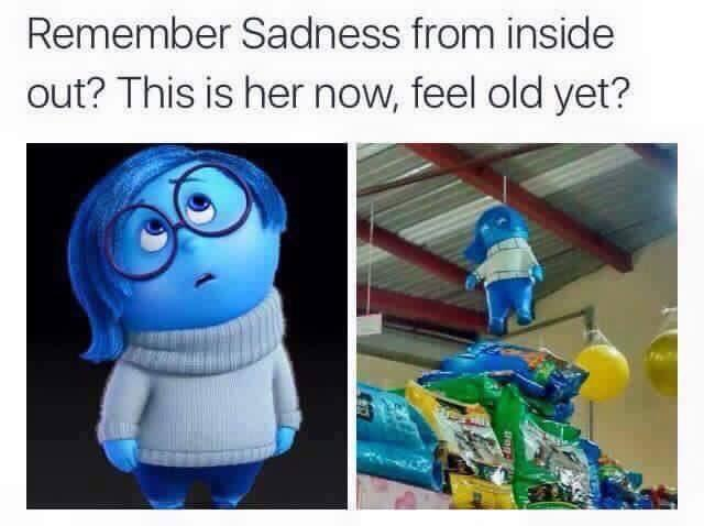 Remember Sadness from Inside Out? | Feel Old Yet? | Know ...