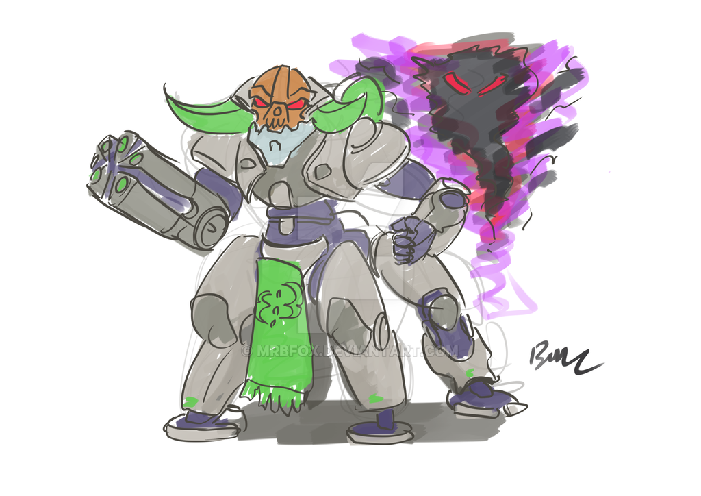 Orisa the Destroyer | Overwatch | Know Your Meme