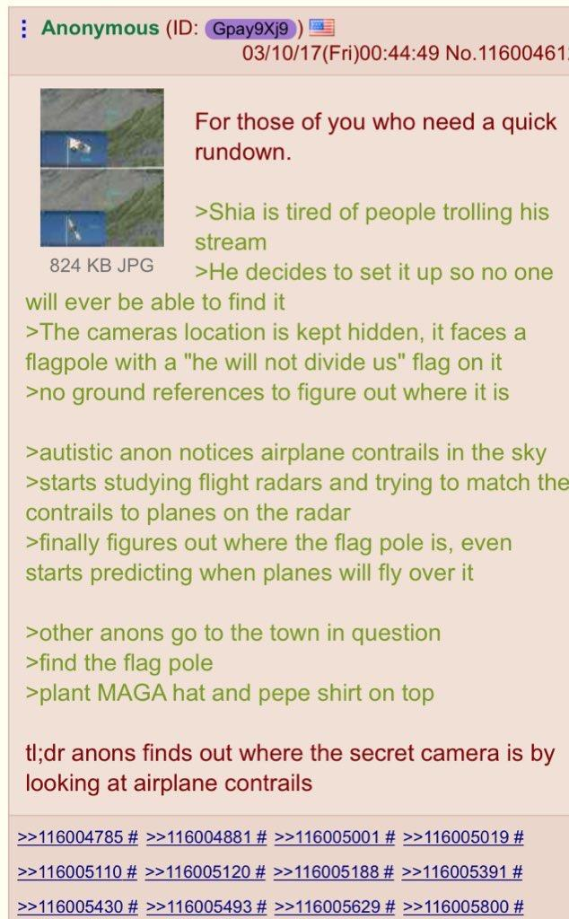 Pol Locates The HWNDU Stream Flag Location He Will Not Divide - He will not divide us google maps