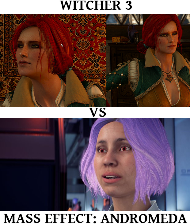 a2d 3 vs andromeda mass effect andromeda know your meme