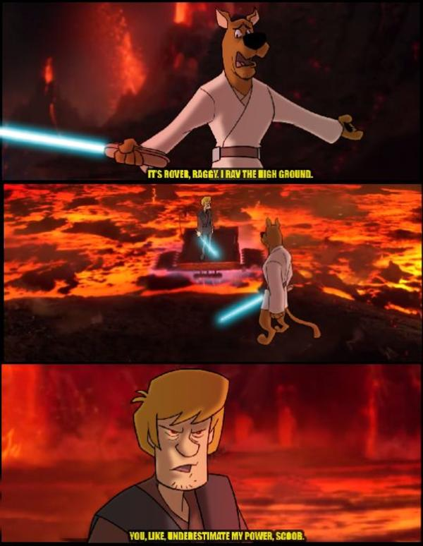 You underestimate the power of snacks... | Scooby-Doo ...