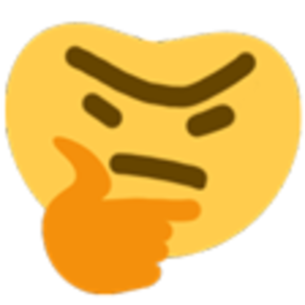 thronking thinking face emoji ��� know your meme