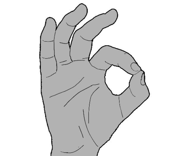 1d8 ok symbol 👌 know your meme