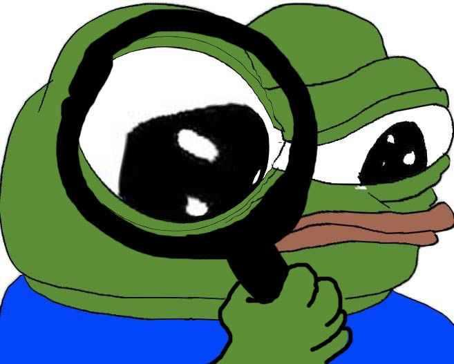 Cartoon Characters W Glasses : Magnifying glass apu apustaja know your meme
