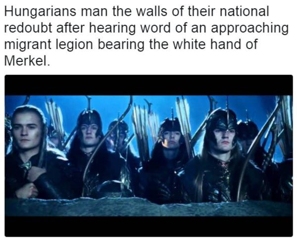 """""""Hungarians man the walls of their national redoubt after ..."""